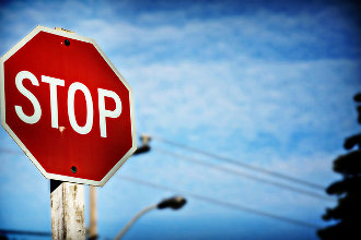 Stop Sign In Front Of My House