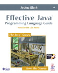 [Effective Java Programming Language Guide cover]