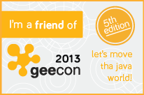 Friend of GeeCON 2013