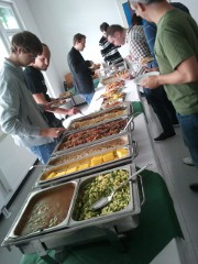 Code Retreat Graz, Buffet by INFONOVA