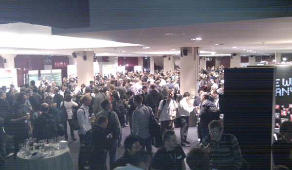Devoxx 2010 crowded main hall