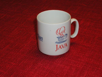 Java Cup bought at jumble sale