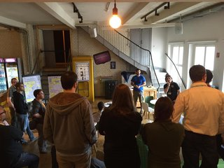 Retrospective during Coderetreat at Wooga/Berlin 2015 (C) Stefan Hoth