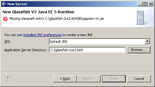 Eclipse Europa - GlassFish V2 - where is appserv-rt.jar