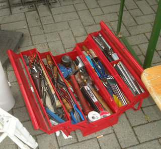 Filled Tool Box