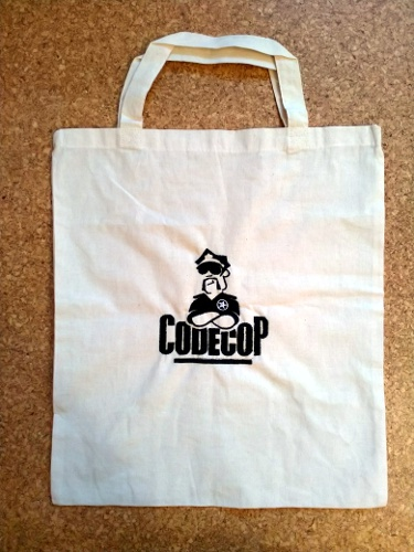 Code Cop Cotton Bag
