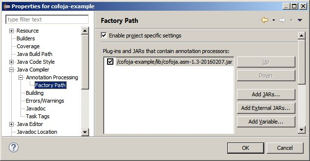 Eclipse_ Project Factory Path